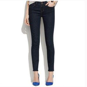 Madewell 37s Skinny Skinny Jeans Dark Wash
